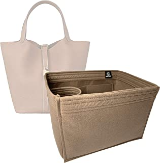 b09957dace Zoomoni Hermes Picotin 26 Bag Insert Organizer - Premium Felt (Handmade/14  Colors)