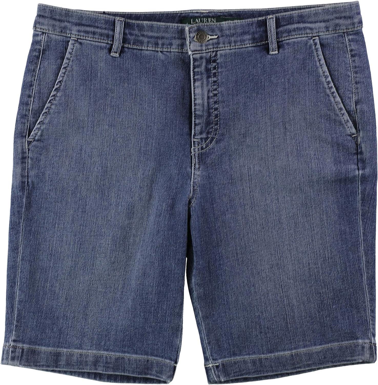 Ralph Lauren Womens Stretch Casual Bermuda Shorts