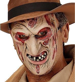 WIDMANN VD-WDM00353Half Mask Burned Face Murderer for Babies, Beige, One Size