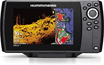 Humminbird HELIX 7 Fish Finder 410940-1, CHIRP Mega DI GPS G3