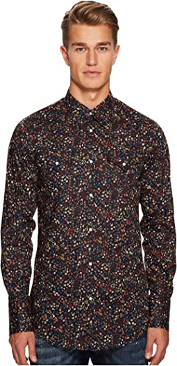 DSQUARED2 - Flower Print Western Shirt