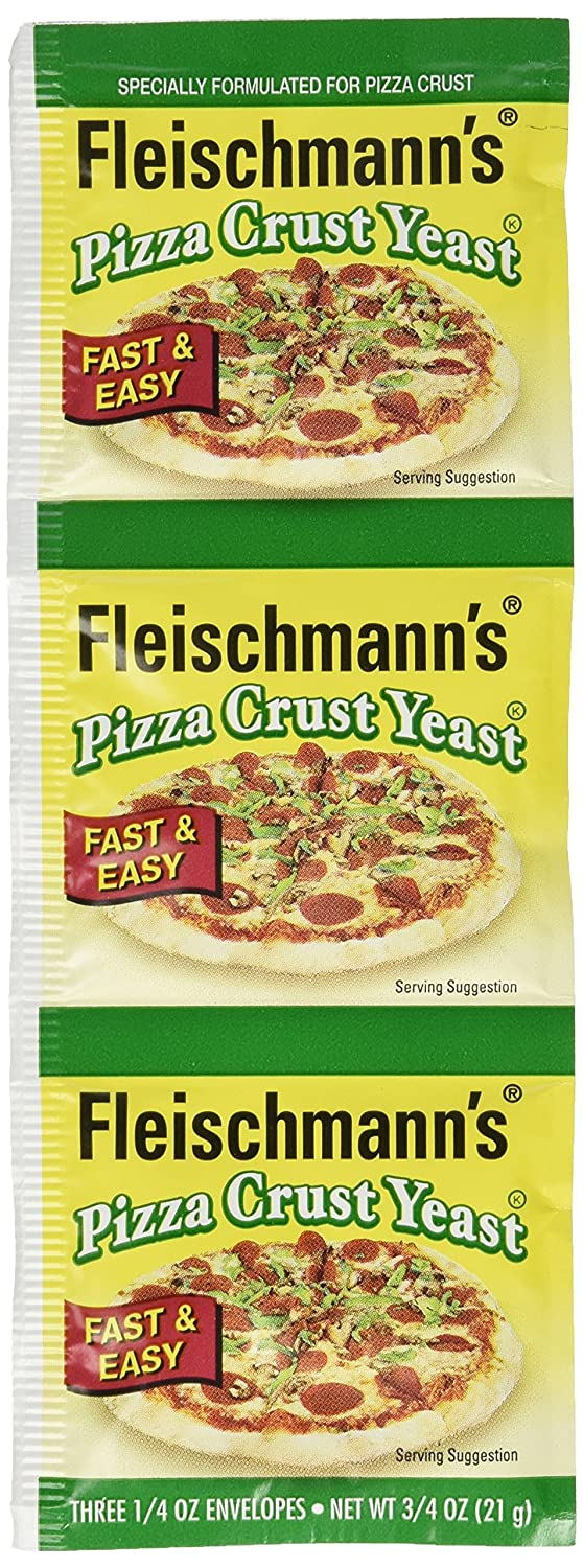 Fleischmann's Year-end annual account Pizza Crust Yeast For Formulated ! Super beauty product restock quality top! Specially