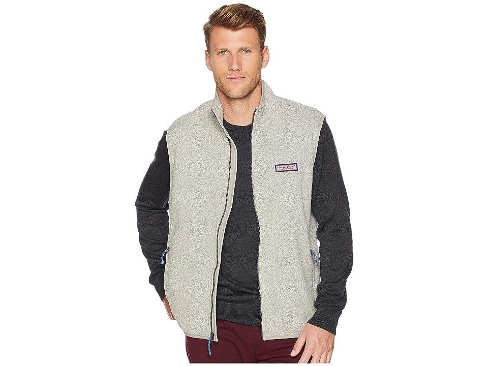 Vineyard Vines Sweater Fleece Shep Shirt Vest (Pebble) Men