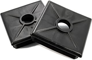 Camco 40303 Bumper Caps - 2 pack (Black)