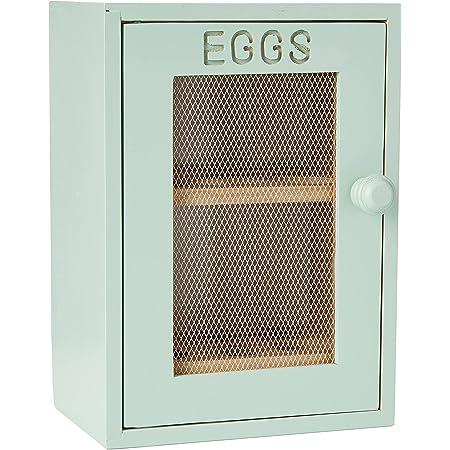 Apollo en Bois Placard à œufs, Vert Menthe/Vert