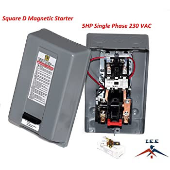3 phase magnetic switch wiring diagram magnetic electric motor starter control 5 hp single phase 220 240v  electric motor starter control 5 hp