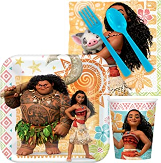 BirthdayExpress Disney Moana Party Supplies Snack Party Pack (8)