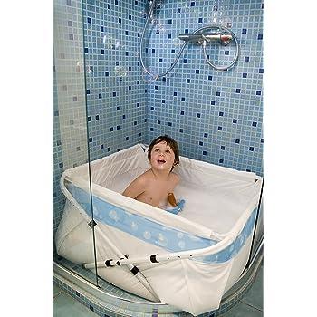 BIBABAIN Bibabad Folding Shower Bath by BiBaBad