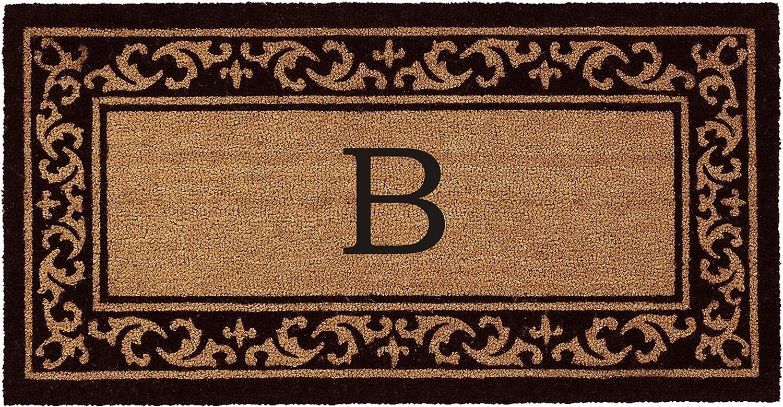 Kendall Monogram Doormat 24  x 48  (Letter B)