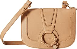 Hana Large Leather Crossbody