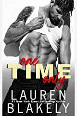 One Time Only (English Edition) Format Kindle