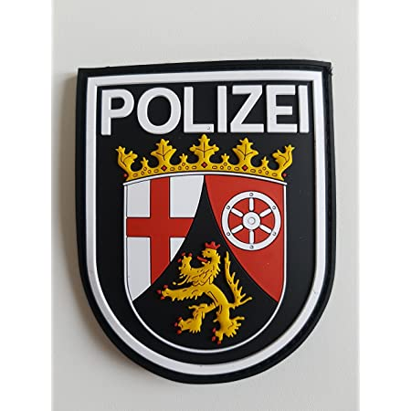 Atg Ärmelabzeichen Polizei Rheinland Pfalz 3 D Rubber Patch Farbig Auto