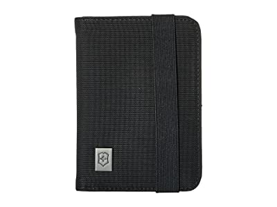 Victorinox Passport Holder with RFID Protection (Black/Black Logo) Wallet