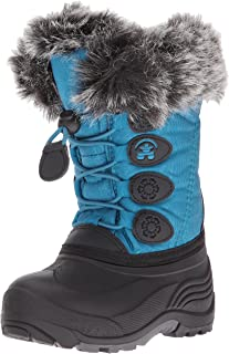 Kamik Kids' Snowgypsy Snow Boot, Teal, 13 Medium US Little Kid