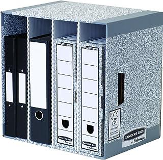 Fellowes System 5016291885450 Modules de classement Gris Lot de 5