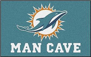 FANMATS 14270 NFL Baltimore Ravens Nylon Universal Man Cave UltiMat Rug