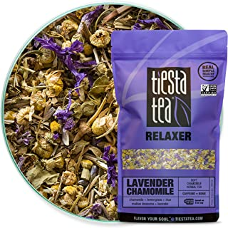 Sponsored Ad - Tiesta Tea - Lavender Chamomile, Loose Leaf Soft Chamomile Herbal Tea, Non-Caffeinated, Hot & Iced Tea, 8 o...