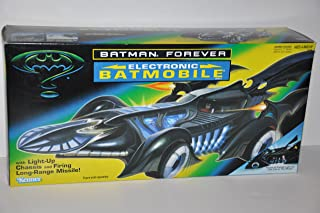 Batman Forever Electronic Batmobile Vehicle with Light-Up Chassis (1995 Kenner)