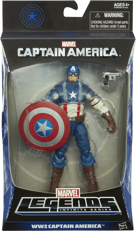 Captain America Marvel Legends WW2 Captain America Figure 15cm