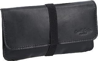 "Porta tabacco Gusti Leder studio""Farro"" borsa in vera pelle nero 2T30-22-9"
