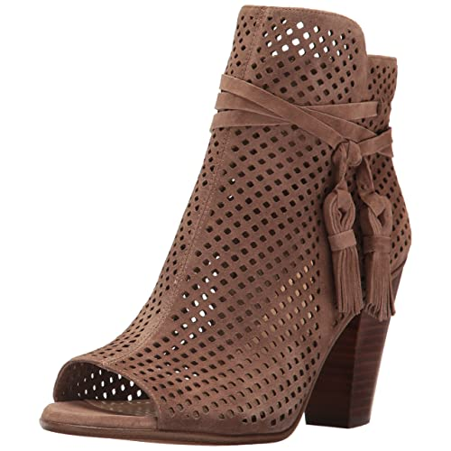 95f9bb998c5b9 Vince Camuto Peep Toe Booties  Amazon.com