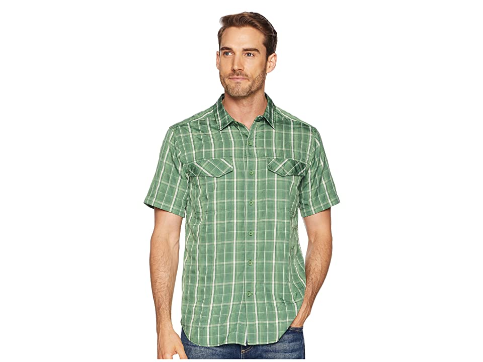 Royal Robbins Ultra Light Short Sleeve Shirt (Elm Green) Men