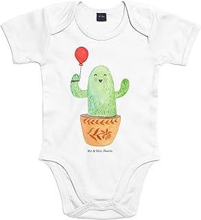 Mr. & Mrs. Panda Mr. & Mrs. Panda Baby, Strampler, 3-6 Monate Baby Body Kaktus Luftballon - Farbe Transparent