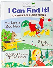 I Can Find It! Fun with 3 Classic Stories: The Little Red Hen, Peter Rabbit, Goldilocks and the Three Bears