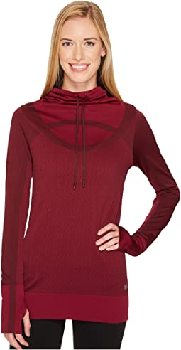 Under Armour - Threadborne Seamless Funnel Neck Top