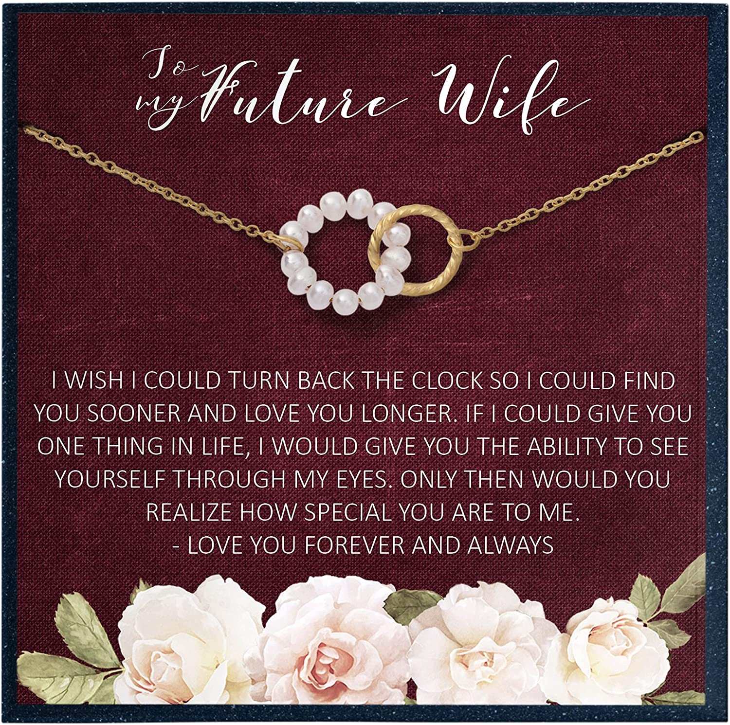 Easy-to-use Grace of Pearl Gifts for Wife Ne Romantic Limited time cheap sale Future to My Gift