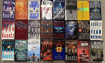 Dean Koontz Thriller Novel Collection 24 Book Set