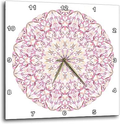 Kess InHouse Danny Ivan Like Explosion Pink TealWall Clock 12 Diameter