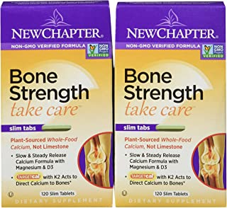NEW CHAPTER BONE STRENGTH TAKE CARE 240