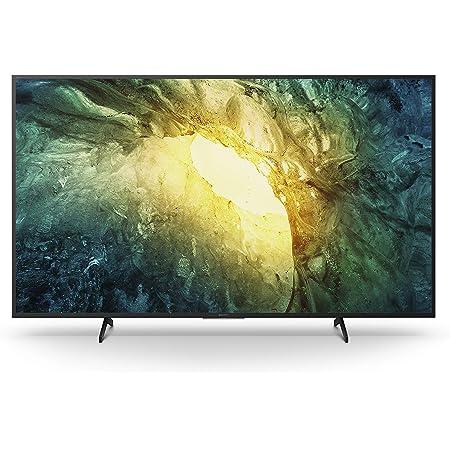 Sony KD-65X7055 Bravia 164 cm (65 Zoll) Fernseher (LED, 4K Ultra HD (UHD), High Dynamic Range (HDR), Smart TV, 2020 Modell) Schwarz