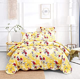 Best yellow quilted coverlet Reviews