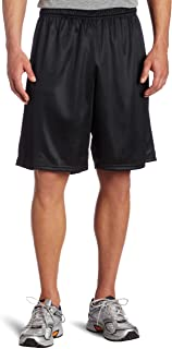 Men's Long Polyester Mini-Mesh Short