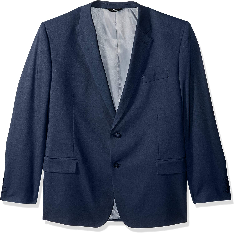 Haggar mens Travel Performance Solid Gab Tailored Fit Suit Separate Coat