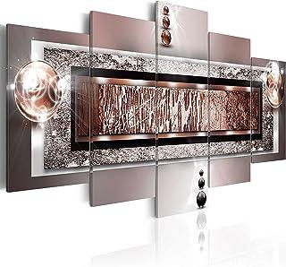 ... 5 Pieces   Image Sur Toile U2013 Images U2013 Photo U2013 Tableau   Motif Moderne    Décoration   Pret A Accrocher   Abstraction Abstrait 020101 214 200x100 Cm