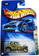 Mattel Hot Wheels 2004 Tat Rods 1:64 Scale Green 1932 Ford Vicky 2/5 Die Cast Car #119