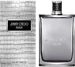 JIMMY CHOO Man Eau De Toilette, Aromatic Woody Fougere, 6.7 Fl Oz