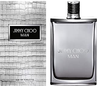 JIMMY CHOO Man Eau De Toilette, Aromatic Woody Fougere, 6.7 fl. oz.