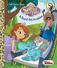 A Royal Pet Problem (Disney Junior: Sofia the First) (Little Golden Book)