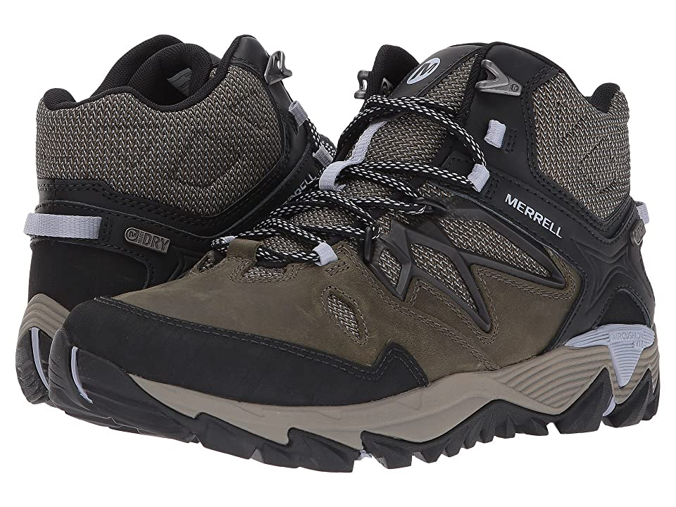 Merrell All Out Blaze 2 Mid Waterproof (Dark Olive) Women