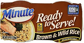 Minute Ready to Serve Brown & Wild Rice 2 - 4.4 oz cups