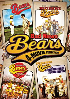 Bad News Bears 4-Movie Collection: (Original 1976 Classic / Go to Japan / Breaking Training / 2005 Remake)