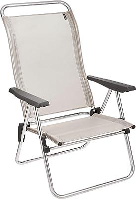 Lafuma ALU Low Chaise, Seigle, 62,5 x 69 x 101 cm