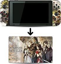 Octopath Traveler Game Skin for Nintendo Switch Console and Dock