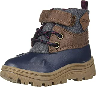 Carter's Boys' New Boot, Navy, 9 M US Toddler