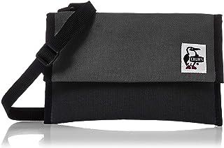 [チャムス] ポーチ Smallest Pouch Sweat Nylon Black/Charcoal