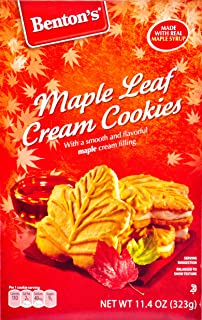 Best benton's maple leaf cream cookies Reviews